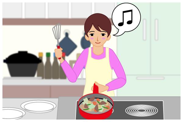 ミールキットで料理!